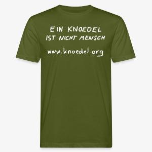 Knoedel - Männer - Weiss - Männer Bio-T-Shirt
