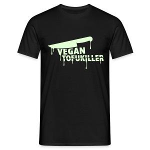 Mens 'VEGAN TOFUKILLER' GLOW - Männer T-Shirt