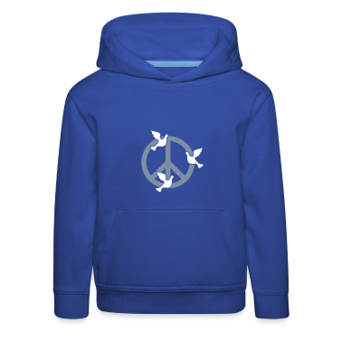 King's blue Frieden mit Tauben / peace 'n doves (2c) Kids' Tops