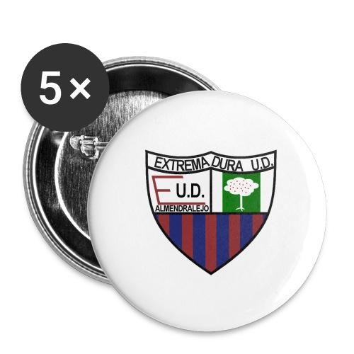 Chapa (extremadura ud) - Paquete de 5 chapas pequeñas (25 mm)