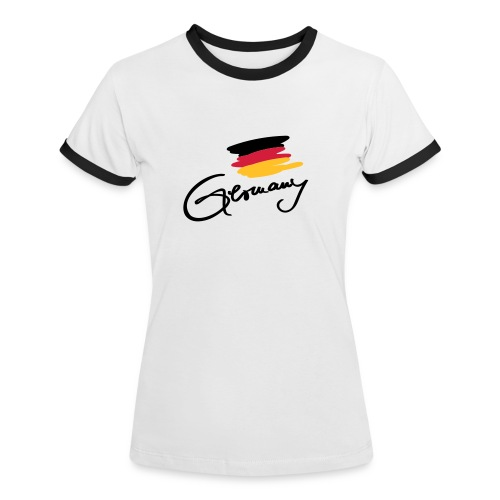 Germany - Frauen Kontrast-T-Shirt