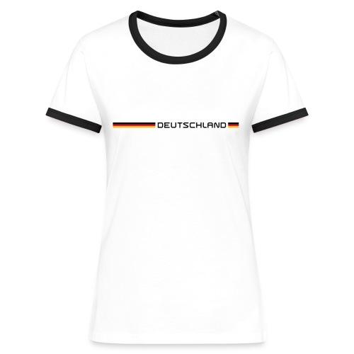 Deutschland - Frauen Kontrast-T-Shirt