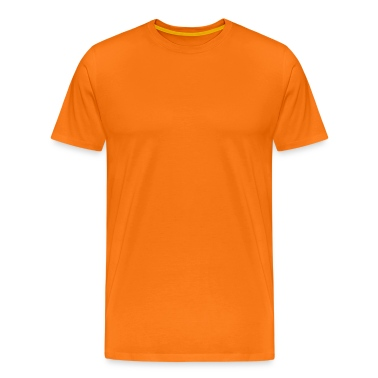 i-plod orange men's t-shirt