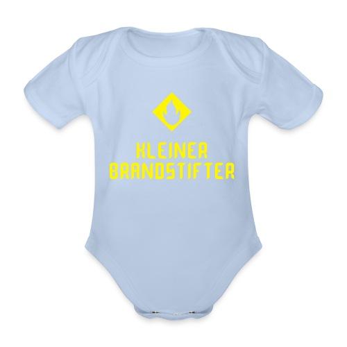 Baby Body Kleiner Brandstifter - Baby Bio-Kurzarm-Body