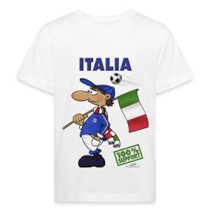 Bio-Fanshirt Italia Bambino - Kinder Bio-T-Shirt