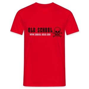 Old School Skull - Männer T-Shirt