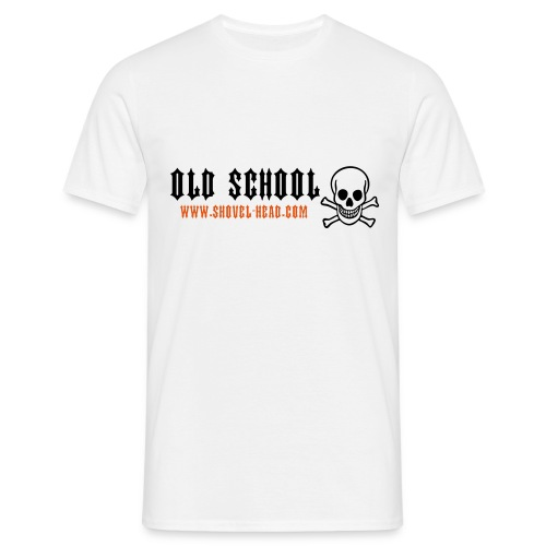 Old School Skull - Männer T-Shirt