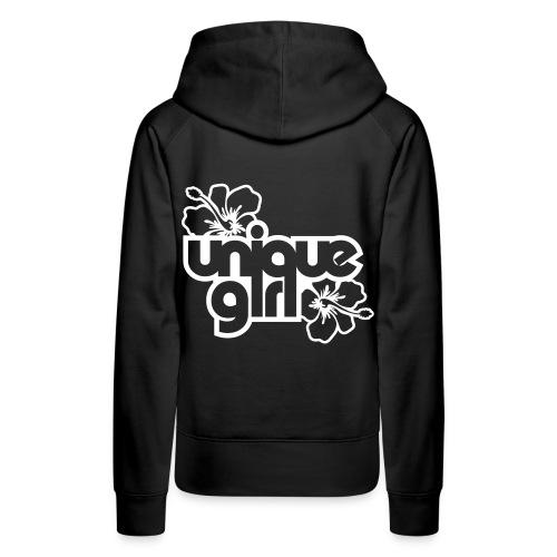 uniqe girl hettegenser - Premium hettegenser for kvinner