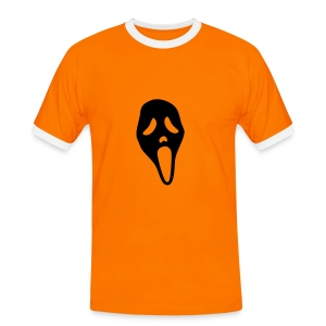 T-Shirt Déco Scream - T-shirt contrasté Homme