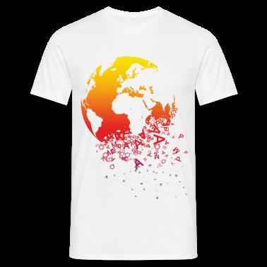 Bianco World dissolves - Mondo si dissolve T-shirt