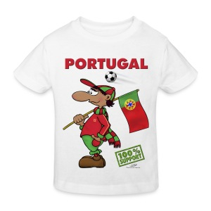 Bio-Fanshirt Portugal Kids - Kinder Bio-T-Shirt