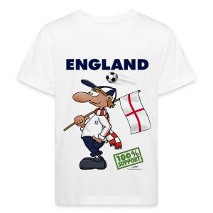 Bio-Fanshirt England Kids - Kinder Bio-T-Shirt