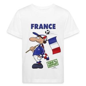 Bio-Fanshirt France Kids - Kinder Bio-T-Shirt