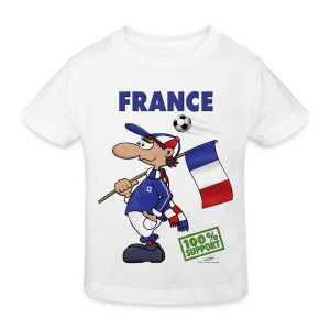 Bio-Fanshirt France Kids - Kinder Bio-T-Shirt