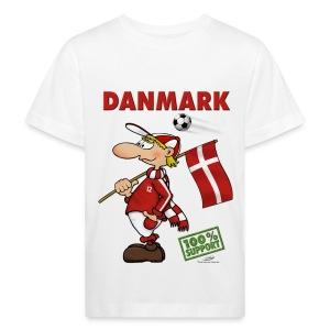 Bio-Fanshirt Danmark Kids - Kinder Bio-T-Shirt