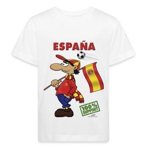 Bio-Fanshirt Espana Kids - Kinder Bio-T-Shirt