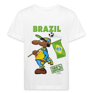 Bio-Fanshirt Brazil Kids - Kinder Bio-T-Shirt