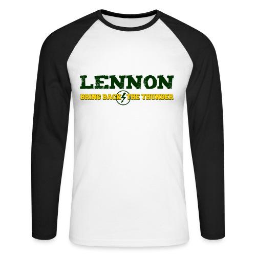Bring Back The Thunder - Men's Long Sleeve Baseball T-Shirt