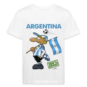 Bio-Fanshirt Argentina Kids - Kinder Bio-T-Shirt