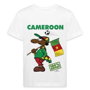 Bio-Fanshirt Cameroon Kids - Kinder Bio-T-Shirt