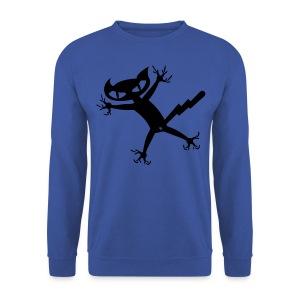 Bad Cat - army Pullover - Männer Pullover