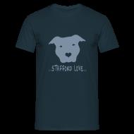 T-Shirts ~ Men's T-Shirt ~ Mens/Unisex 'Stafford Love' T-Shirt