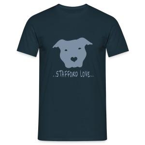 Mens/Unisex 'Stafford Love' T-Shirt - Men's T-Shirt