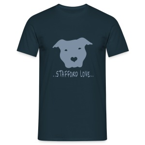 Mens/Unisex 'Stafford Love' T-Shirt - Men's T-Shirt