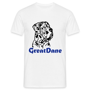 Mens/Unisex Great Dane T-Shirt - Men's T-Shirt