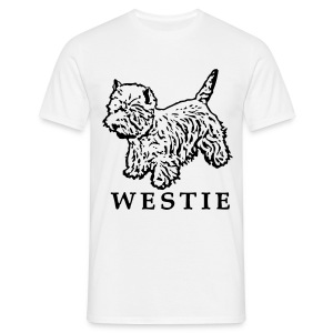 Mens/Unisex 'Westie' T-Shirt - Men's T-Shirt