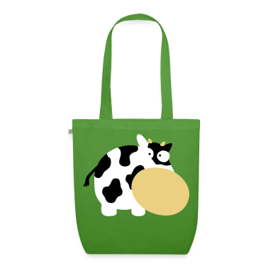 Leaf green Moo Cow Farm Animal Farm Muhkuh Muuuh Bags