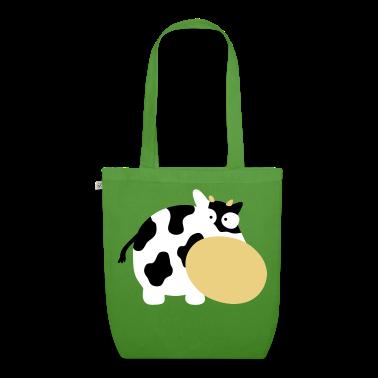 Vert feuille Cow Moo Farm Animal Fa