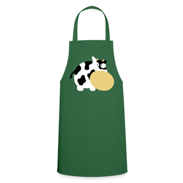 Green Moo Cow Farm Animal Farm Muhkuh Muuuh  Aprons