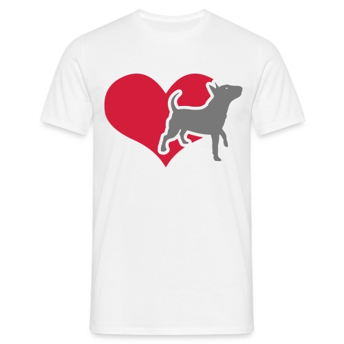 Mens/Unisex Bully Heart T-Shirt - Men's T-Shirt
