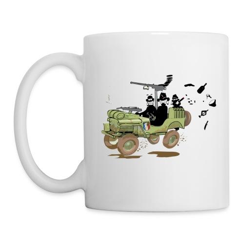 Tasse Jeep Gaucher - Mug blanc