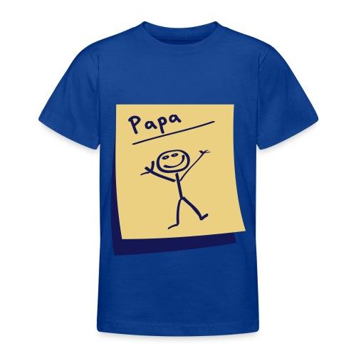 Kinderen T-shirt Klassiek Papa - Teenager T-shirt