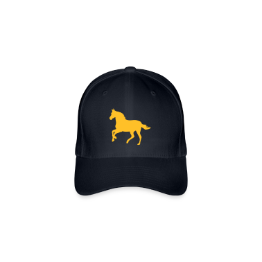 Navy Horse pony riding race horses - foal - small horse  Caps & Hats
