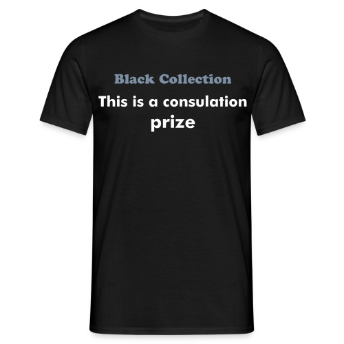 Consulation Prize - T-shirt herr