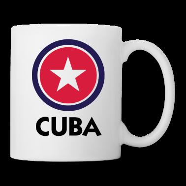 White Cuba 1 (DD) Mugs