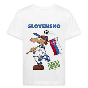 Bio-Fanshirt Slovensko Kids - Kinder Bio-T-Shirt
