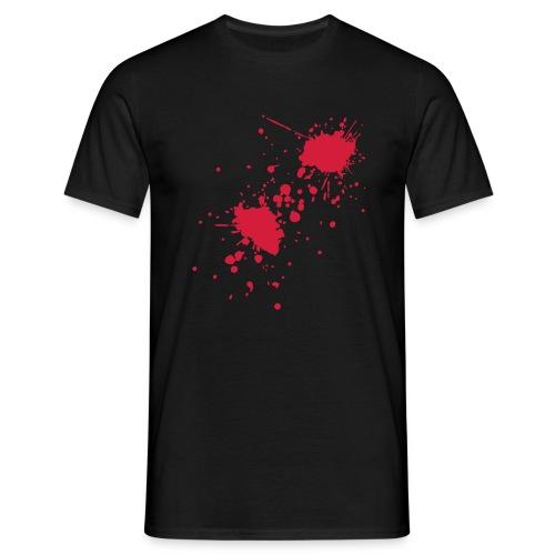 Splatter - Männer T-Shirt
