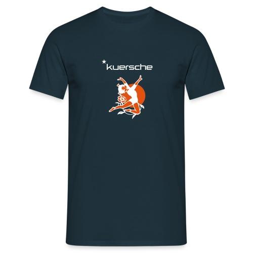 Kuersche mit Tänzerin  - Männer T-Shirt