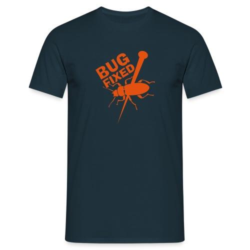 Bug fixed T-Shirt - Männer T-Shirt