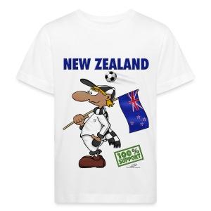 Bio-Fanshirt New Zealand Kids - Kinder Bio-T-Shirt