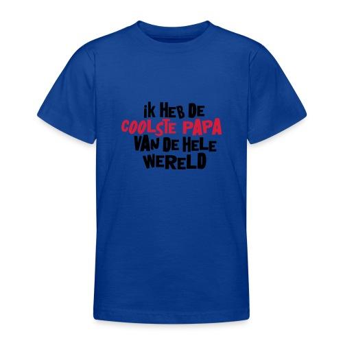 T-Shirt - Coolste papa - Teenager T-shirt