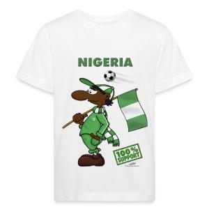 Bio-Fanshirt Nigeria Kids - Kinder Bio-T-Shirt