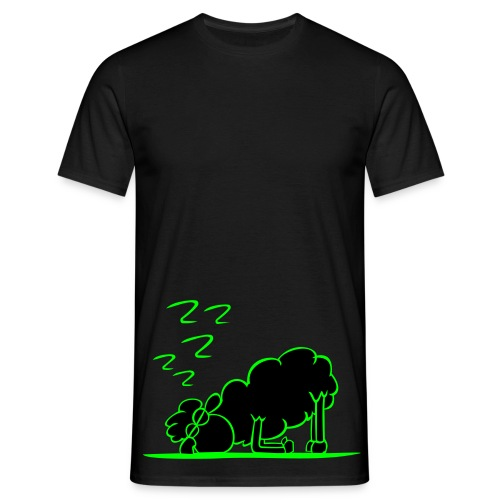 neon sleep sheep - Men's T-Shirt