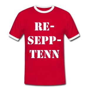 Men's Denmark Football T-Shirt - Men's Ringer Shirt