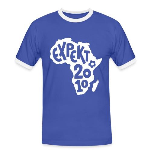 Men's Expekt 2010 Football T-Shirt Blue/white - Men's Ringer Shirt