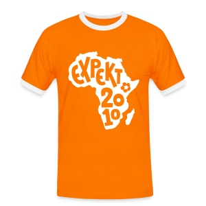 Men's Expekt 2010 Football T-Shirt Orange/white - Men's Ringer Shirt